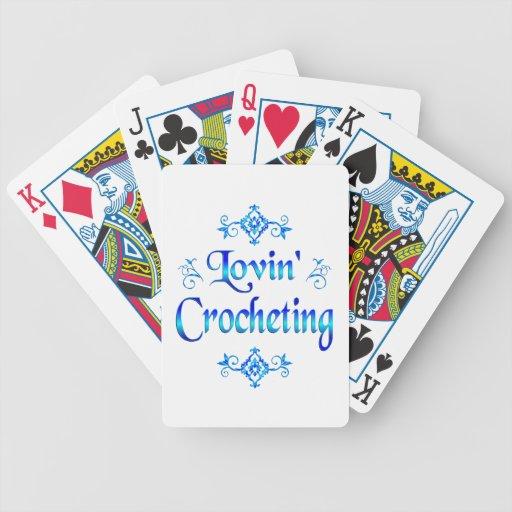 Lovin Crocheting Bicycle Card Deck
