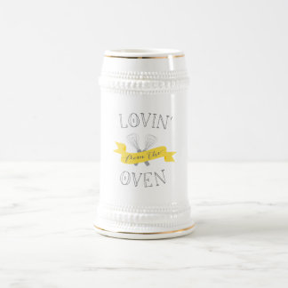 Lovin' from the Oven Beer Stein