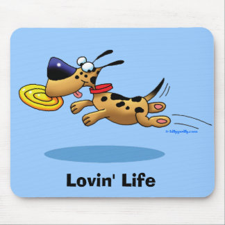 Lovin' Life Mouse Pad