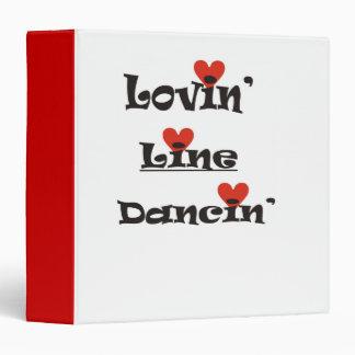 Lovin Line Dancin Binder