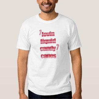 Lovin Liquid Candy Canes T-shirts
