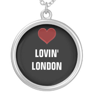 LOVIN' LONDON-Ladies Sterling silver necklace Cool
