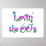 Lovin los años 60 poster