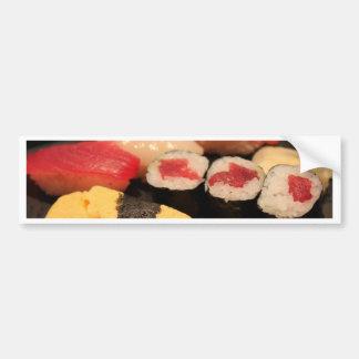 Lovin mi sushi etiqueta de parachoque