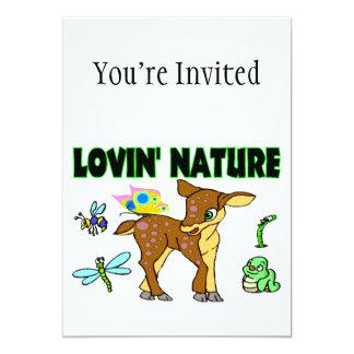 Lovin Nature Animals Card