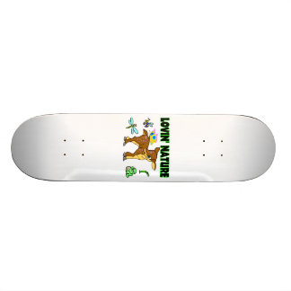 Lovin Nature Animals Skateboard Deck