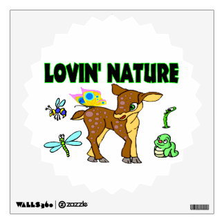 Lovin Nature Animals Wall Decal