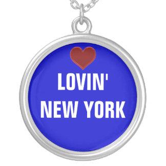 LOVIN NUEVA YORK - señoras del collar de la plata