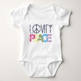 Lovin Peace Baby Bodysuit