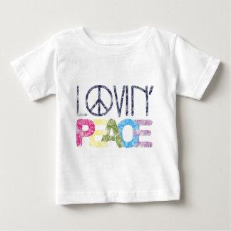 Lovin Peace Baby T-Shirt