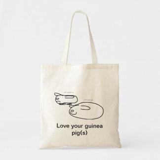 lovin' pigs canvas bag