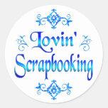 Lovin Scrapbooking Etiquetas Redondas