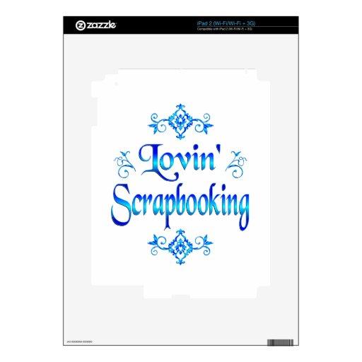 Lovin Scrapbooking iPad 2 Skin