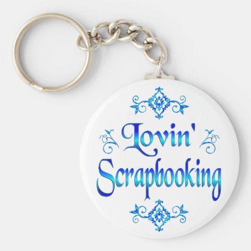 Lovin Scrapbooking Llaveros