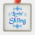Lovin Skiing Ornament
