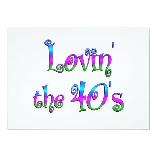 Lovin the 40s card