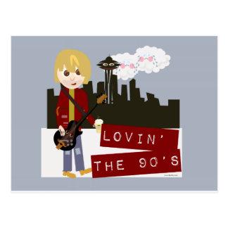 Lovin the Nineties! Postcard