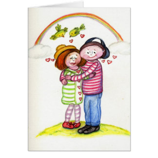 Lovin' You is Easy Greeting Card