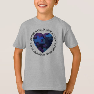 Loving a Child with Autims t-shirt