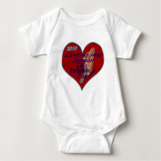 LOVING AIRMAN VAL DAY TAGS BABY BODYSUIT