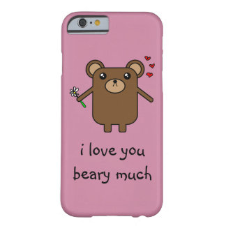 Loving Bear Barely There iPhone 6 Case