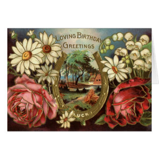 Loving Birthday Greetings - Card