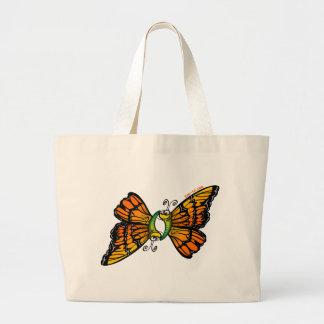 Loving Butterflies Large Tote Bag