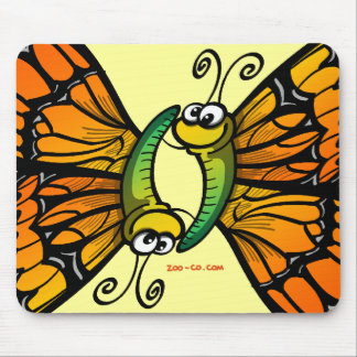 Loving Butterflies Mouse Pad