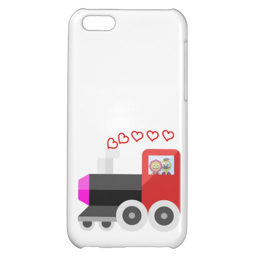 Loving character case for iPhone 5C