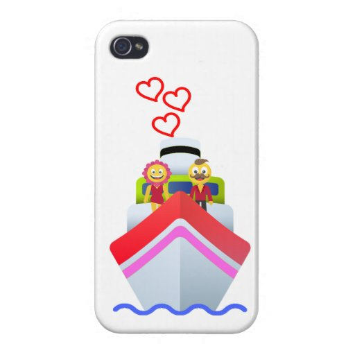 Loving characters case for iPhone 4