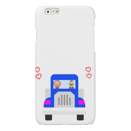 Loving characters glossy iPhone 6 case