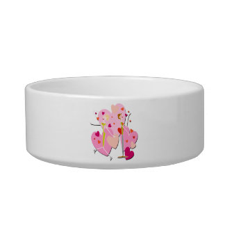Loving Couple with Hearts Bowl