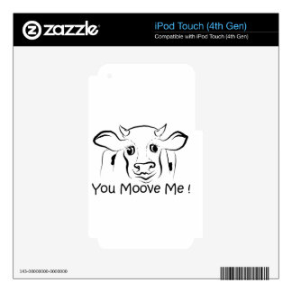 Loving Cow iPod Touch 4G Skin