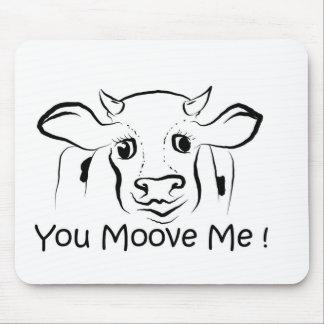 Loving Cow.jpg Mouse Pad