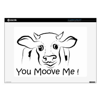 Loving Cow.jpg Skin For Laptop