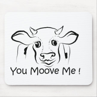 Loving Cow Mouse Pad