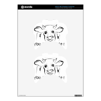 Loving Cow Xbox 360 Controller Skins
