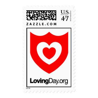 Loving Day Icon Stamp