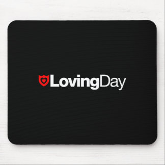 Loving Day Logo Mouse Pad