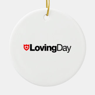 Loving Day Logo Ornament