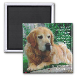 Loving Dogs 2 Inch Square Magnet