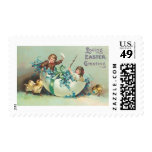 Loving Easter Greeting Postage Stamps