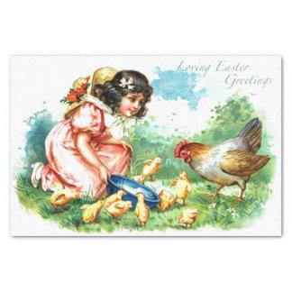 """Loving Easter Greetings 10"""" X 15"""" Tissue Paper"""