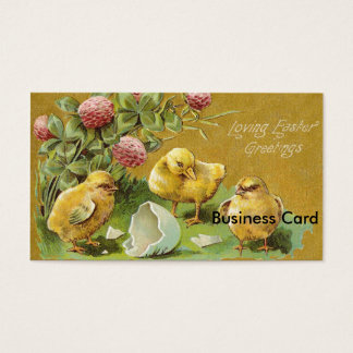 Loving Easter Greetings Business Card