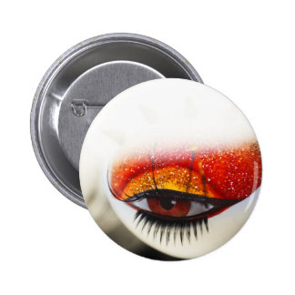 Loving Eye. Color. Love Project Pinback Button