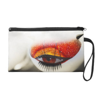 Loving Eye. Love and Goth Project Wristlet Purse