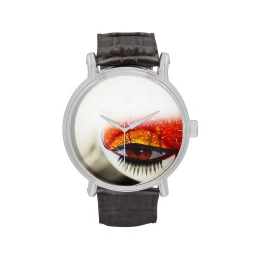 Loving Eye. Love and Goth Project Wristwatch