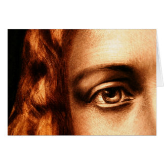 Loving Eye of Jesus Christ Card