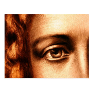 Loving Eye of Jesus Christ Postcard