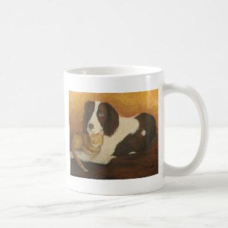 Loving Eyes Classic White Coffee Mug